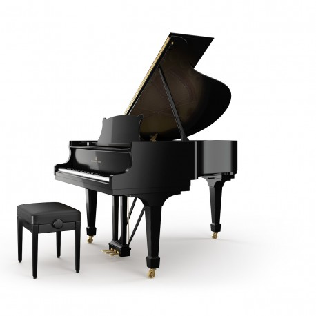 Steinway & Sons  Modèle M-170  -  Piano 1/4 de queue