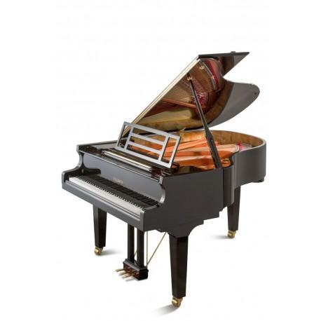Feurich 179 - Piano à queue noir brillant