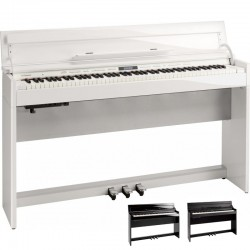 DP603 noir brillant Roland - Piano numérique