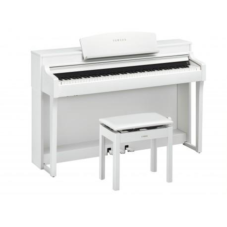 piano numerique  Yamaha Clavinova CSP-150 blanc maison du piano