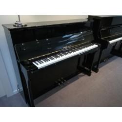Seiler 116 Jubilee Duovox noir verni - piano droit d'occasion