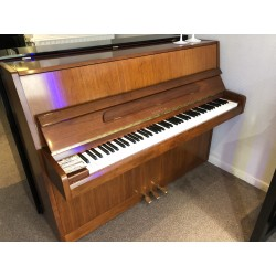 Piano droit d'occasion Samick SU118 noyer satiné